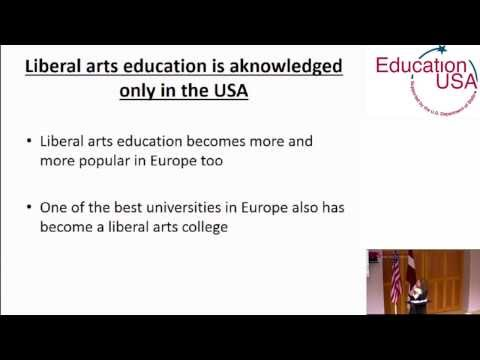Liberal Arts Education in the USA