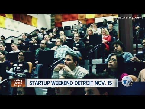 Startup Weekend Detroit is Nov. 15