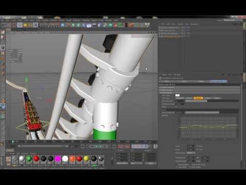 RollerCoaster 4D - Workflow Cinema 4D read description