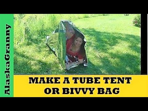 Make a Tube Tent or Bivy Bag from Emergency Survival Blankets & Make a Tube Tent or Bivy Bag from Emergency Survival Blankets ...
