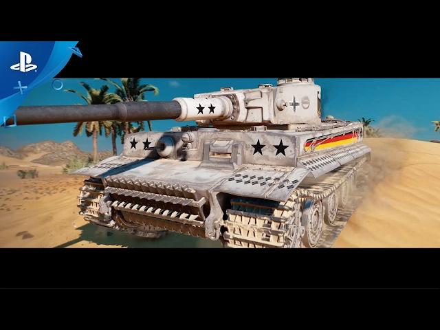 World of Tanks - Anniversary Celebration Trailer   PS4
