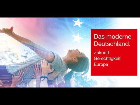Das moderne Deutschland. Zukunft – Gerechtigkeit – Europa