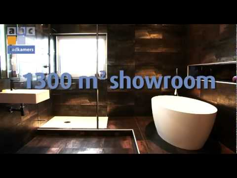 ABC Badkamers Showroom - YouTube