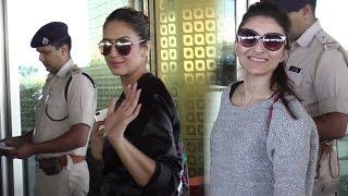 Gambar cover Huma Qureshi And Soha Ali Khan Spotted At Mumbai Airport