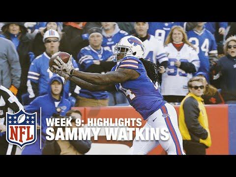 Sammy Watkins Highlights (Week 9) | Dolphins vs. Bills | NFL