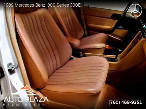 1989 mercedes benz 300 series 300e auto plaza palm for Mercedes benz palm desert