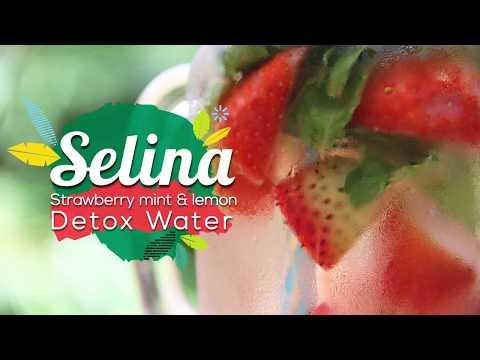 Strawberry, Mint & Lemon Detox Water