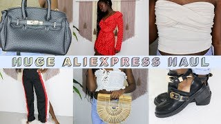 I Spent $300 on AliExpress? HUGE 26 Item Haul and Try on