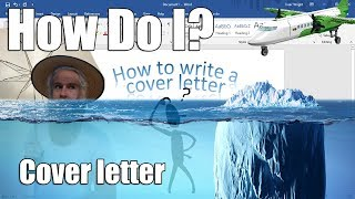 How Do I? - How to Write a Cover Letter