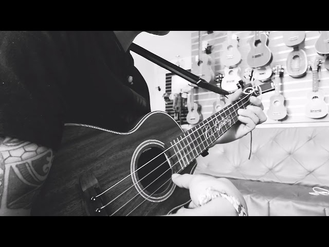 Midnight Sky - Unique(ukulele fingerstyle cover)