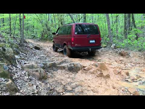 Uwharrie National Forest Ohv | 4x4 GMC Safari Van | Vanlife