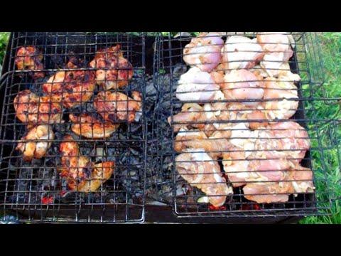 Как замариновать шашлык из курицы с уксусом и луком рецепт