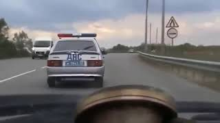 INTENSE RUSSIAN POLICE CHASE