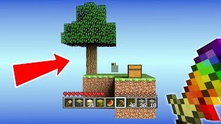 STARTING A NEW WORLD - Minecraft SkyBlock #1