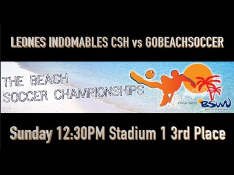 BOTAFOGO BEACH SOCCER vs FORTALEZA EC - Finals - Stadium 1 - 145pm Sunday