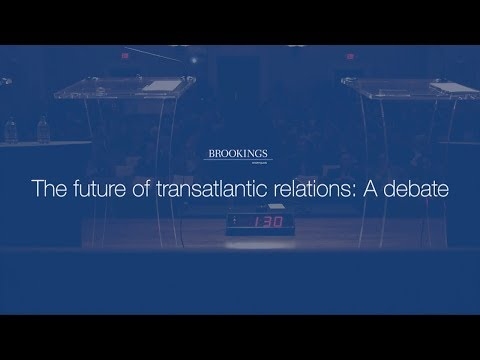 The future of transatlantic relations: A debate