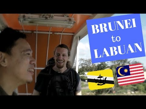 #1 Getting from BRUNEI 🇧🇳 to LABUAN, MALAYSIA 🇲🇾 | HOW I MISSED THE BOAT TO DUTY FREE ISLAND
