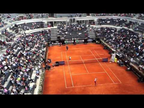 Serena Williams match Rome may 16, 2012