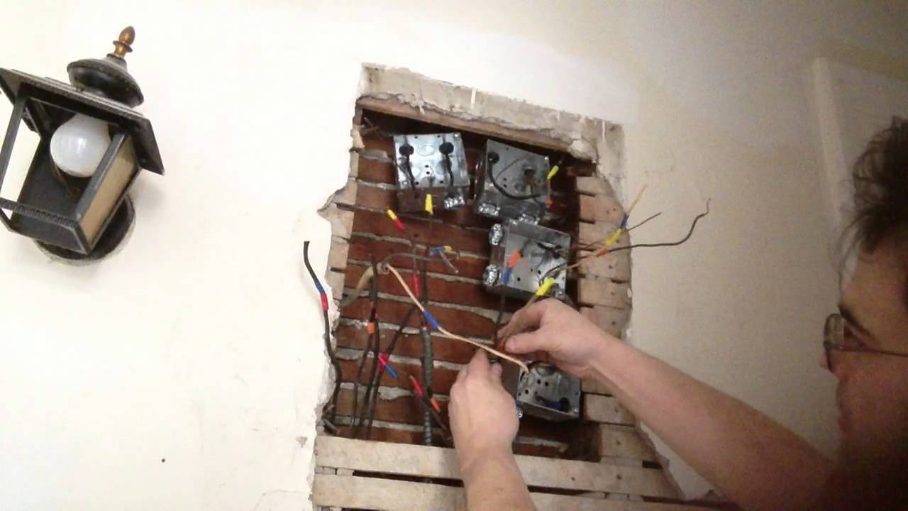 hight resolution of old romex wiring