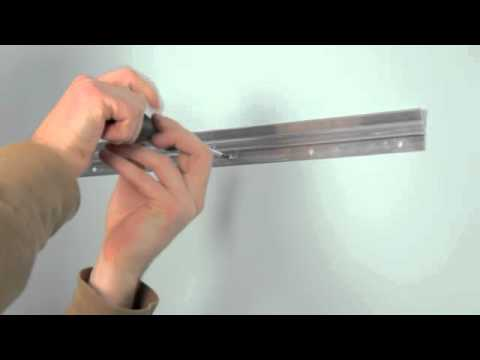 How To Hang A Mantle Flush To The Wall Youtube