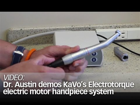 """Pearls"" Enhanced: Dr. Austin demos KaVo's Electrotorque electric motor handpiece system"