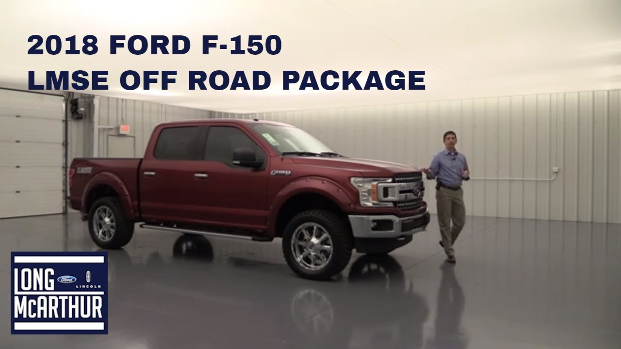 2018 Ford F 150 Lmse Off Road Package