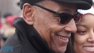 Breaking Bad Actor Giancarlo Esposito at Obama's 2nd Inauguration