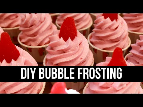 DIY Bubble Frosting (SUGAR FREE & EASY) - Part 1 of 2 | Royalty Soaps