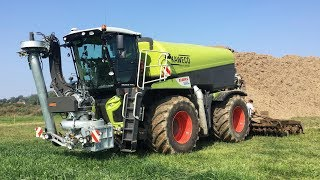 Claas Xerion 4000 Saddle trac | GoPro/driver view