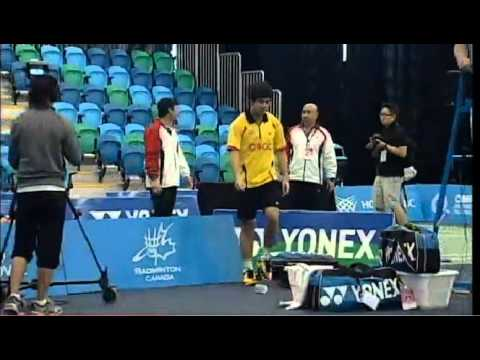 [TV]Fight between two badminton players