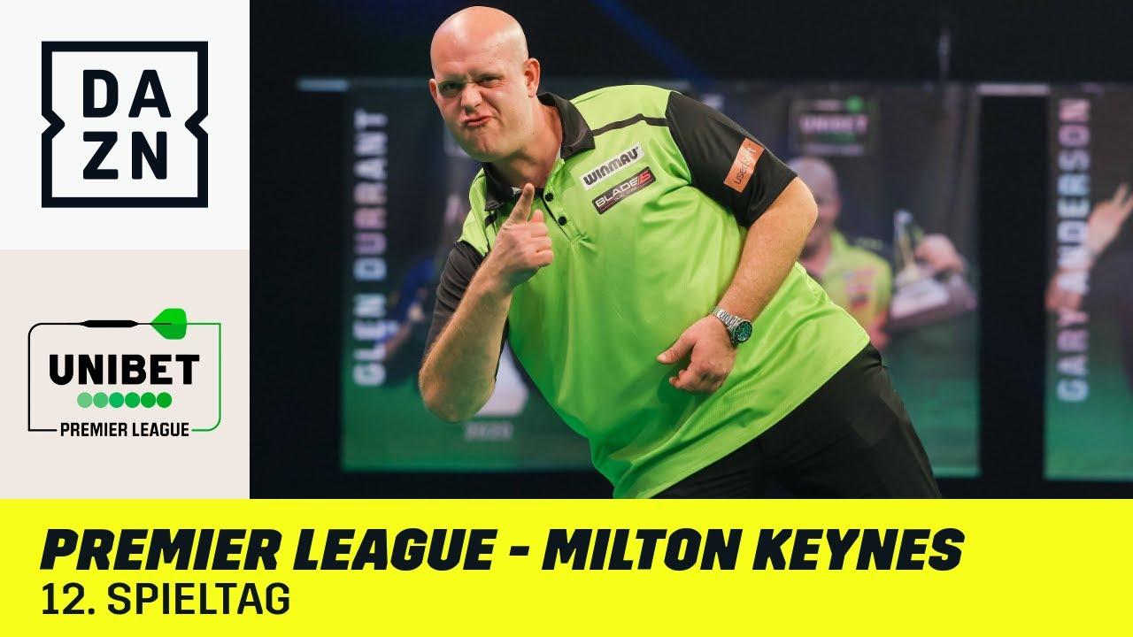 Bewegung an der Spitze & Kampf um Playoff-Plätze   Premier League of Darts - Milton Keynes   DAZN