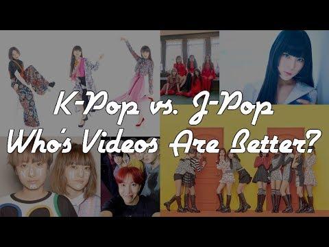 K-Pop vs. J-Pop | Who's Videos are Better? 2