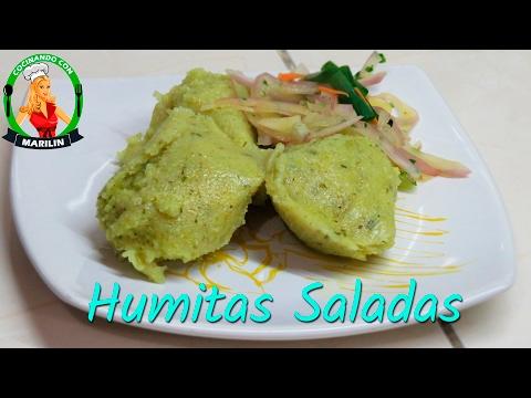 Humitas verdes y saladas | Cocinando con Marilin