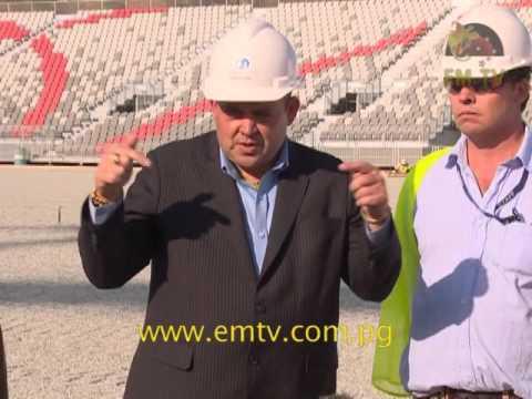Tkatchenko: PNG Prepared to Host International Sports Events
