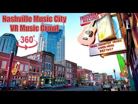 Nashville Music City VR 360 Bar Music Crawl
