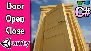 How to Make a Door Open and Close in Unity3D