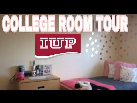 College Dorm Tour + Indiana University IUP