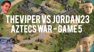 TheViper vs Jordan_23! Amazing Aztecs War! - Best of 21 - Game 5