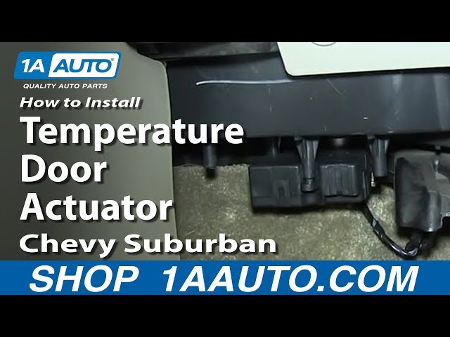 How To Replace Door Actuator 00 06 Chevy Suburban 1a Auto