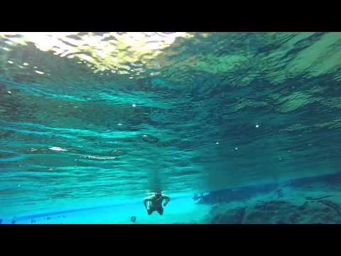 Swimming in Crystal Springs (Vernon Florida)