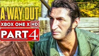 A WAY OUT Gameplay Walkthrough Part 4 [1080p HD Xbox One X] - No Commentary