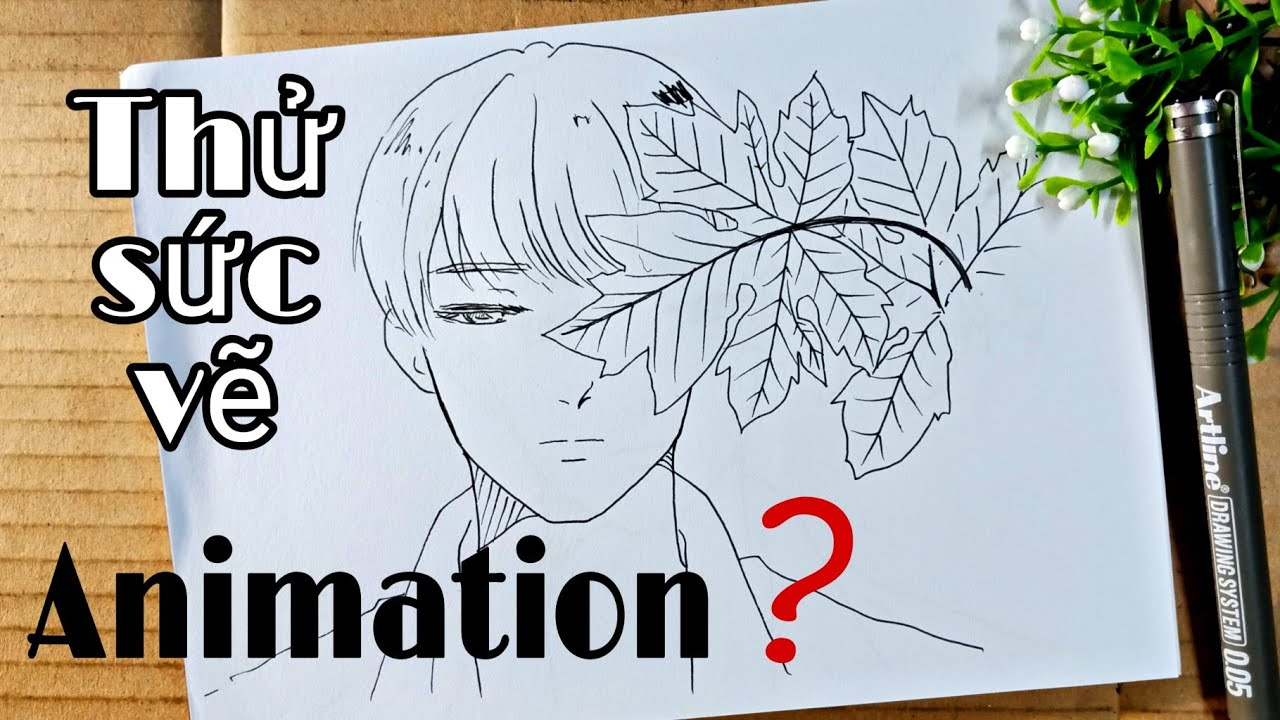 Vẽ Animation – Vẽ tranh chuyển động 1 – Tiên Mio