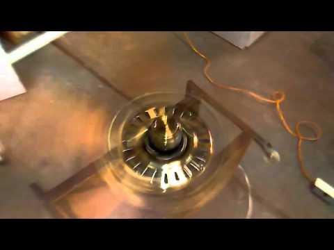"52"" Antique Brass Hunter Mayfair Ceiling Fan"