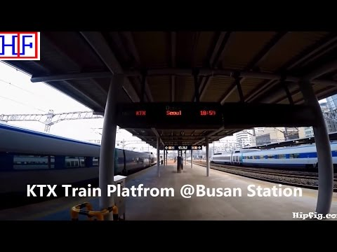 Korea - KTX Express Train -  between Seoul & Busan | Travel