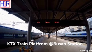 Korea - KTX Express Train -  between Seoul & Busan   Tourist Information