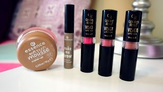 TEST: Essence, Soft Touch Mousse; Essence, Make Me Brow; Golden Rose, Vision Lipstick