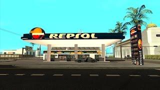 GTA:SA / Repsol Gas Station / Cleo Mod[Türkçe]