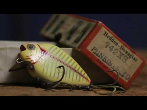 Throw Back Lure 1940's Heddon Punkin-Seed