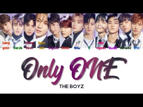 "THE BOYZ 더보이즈 "" Only ONE "" Lyrics (ColorCoded/ENG/HAN/ROM/가사)"