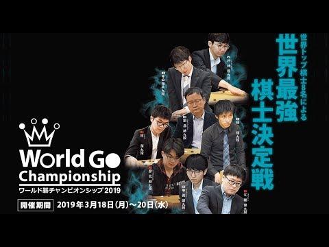 ワールド碁チャンピオンシップ2019 決勝